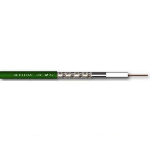 Matassa Cavo Betacavi Eoc 8035 Coax 5,00mm Lszh Verde 100mt Originale Nuovo