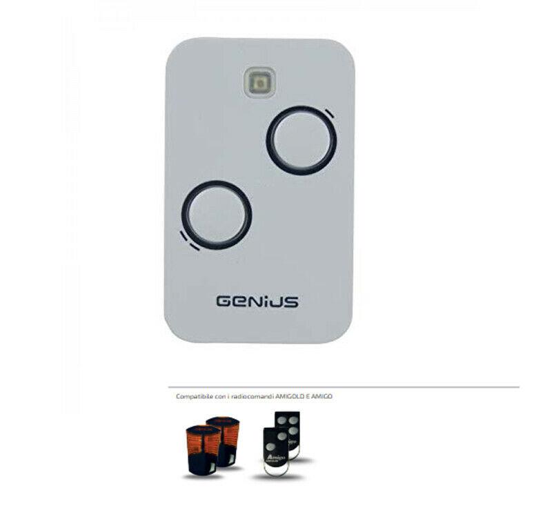 Genius Trasmettitore Genius Kilo Kilo2 Tx2 Automazione Cancello Telecomando Jlc 868 Mhz