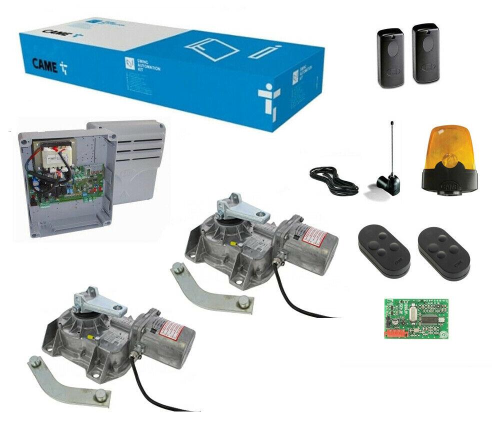 Kit Came U1913 Frog Automazione Automatismo Cancello Battente Motore Interrato