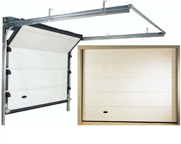 Porte Porta Sezionale 2500 X 2290 Box Garage Automazione Automatismo