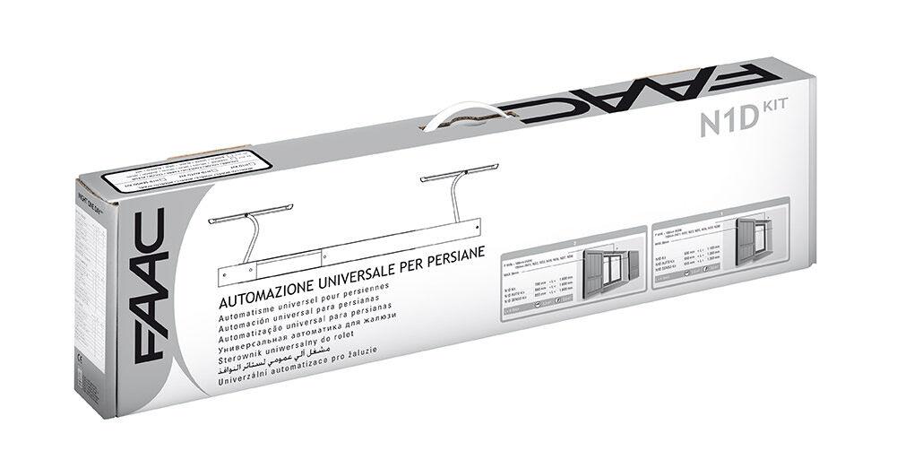 Automazione Per Persiane N1d Auto Kit-Marrone (8017) Faac 105776 Ex 105746
