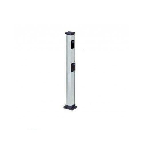 colonnetta alta doppia in alluminio per metal digikey e digicard faac 401035 2pz