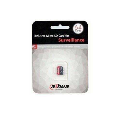 Scheda Micro Sd 16gb Dahua Hd-Msd16 Videosorveglianza Sorveglianza Sicurezza New