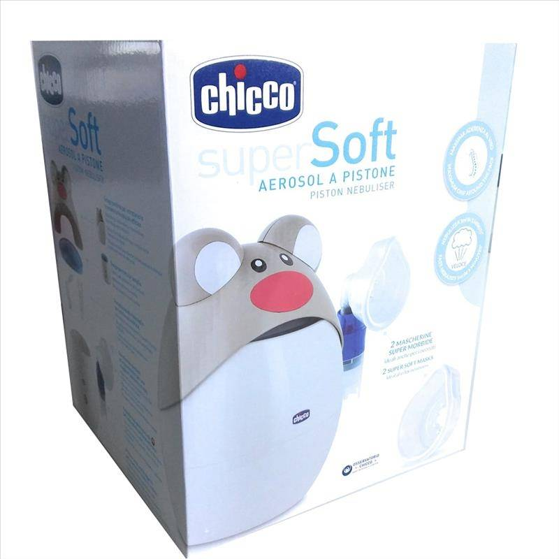 Chicco Super Soft Aerosol A Pistone Design Topo