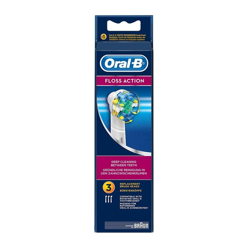 Oral-B Oral B Testine di Ricambio Floss Action - 3 Testine