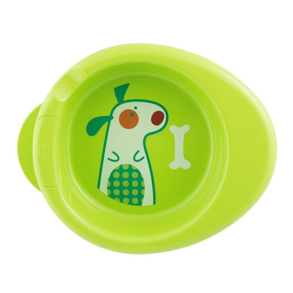 Chicco Warmy Plate Piatto Che Mantiene La Pappa Al Caldo 6 m+ Verde 1 Pezzo°
