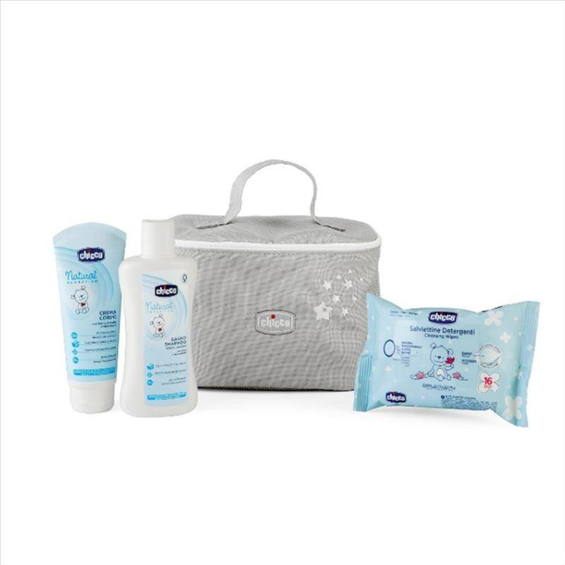 Chicco Beauty My Little Star 0m+ Bagno Shampoo + Crema Corpo + Salviettine