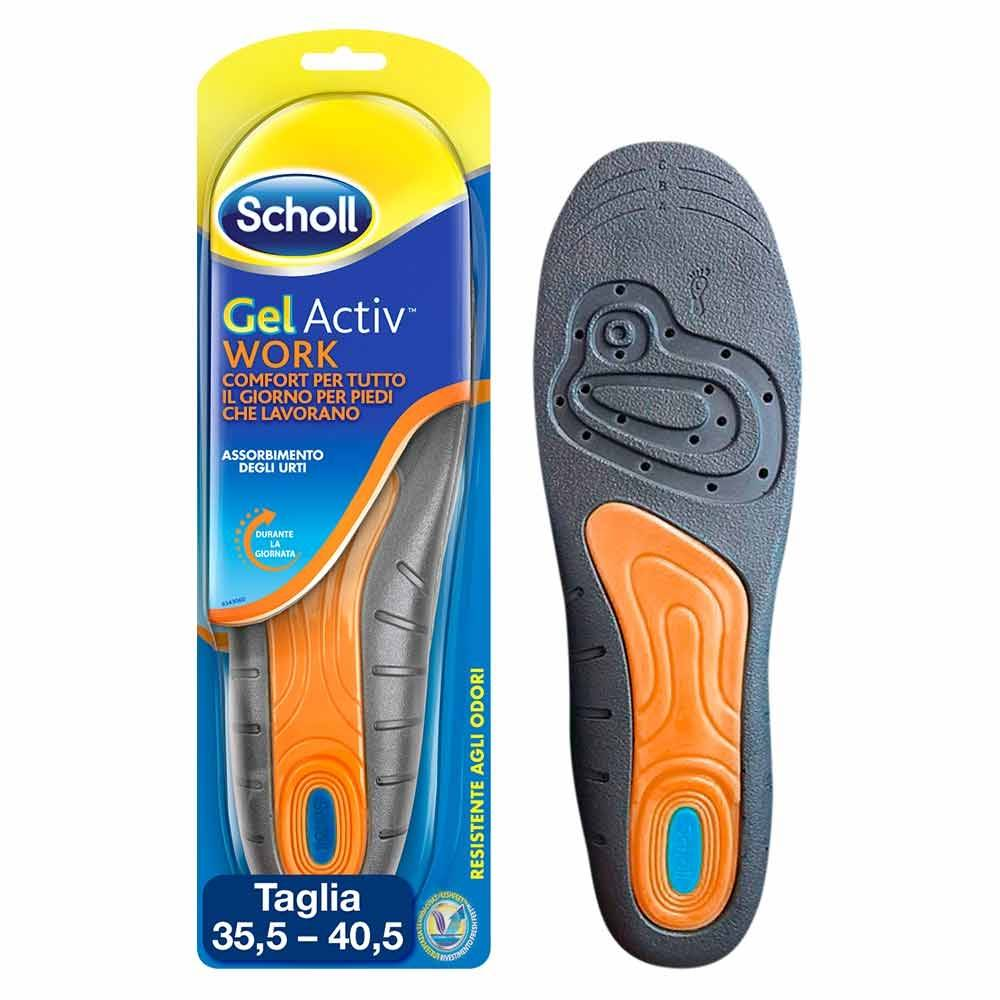 scholl dr.  gel activ work lavoro donna solette per scarpe