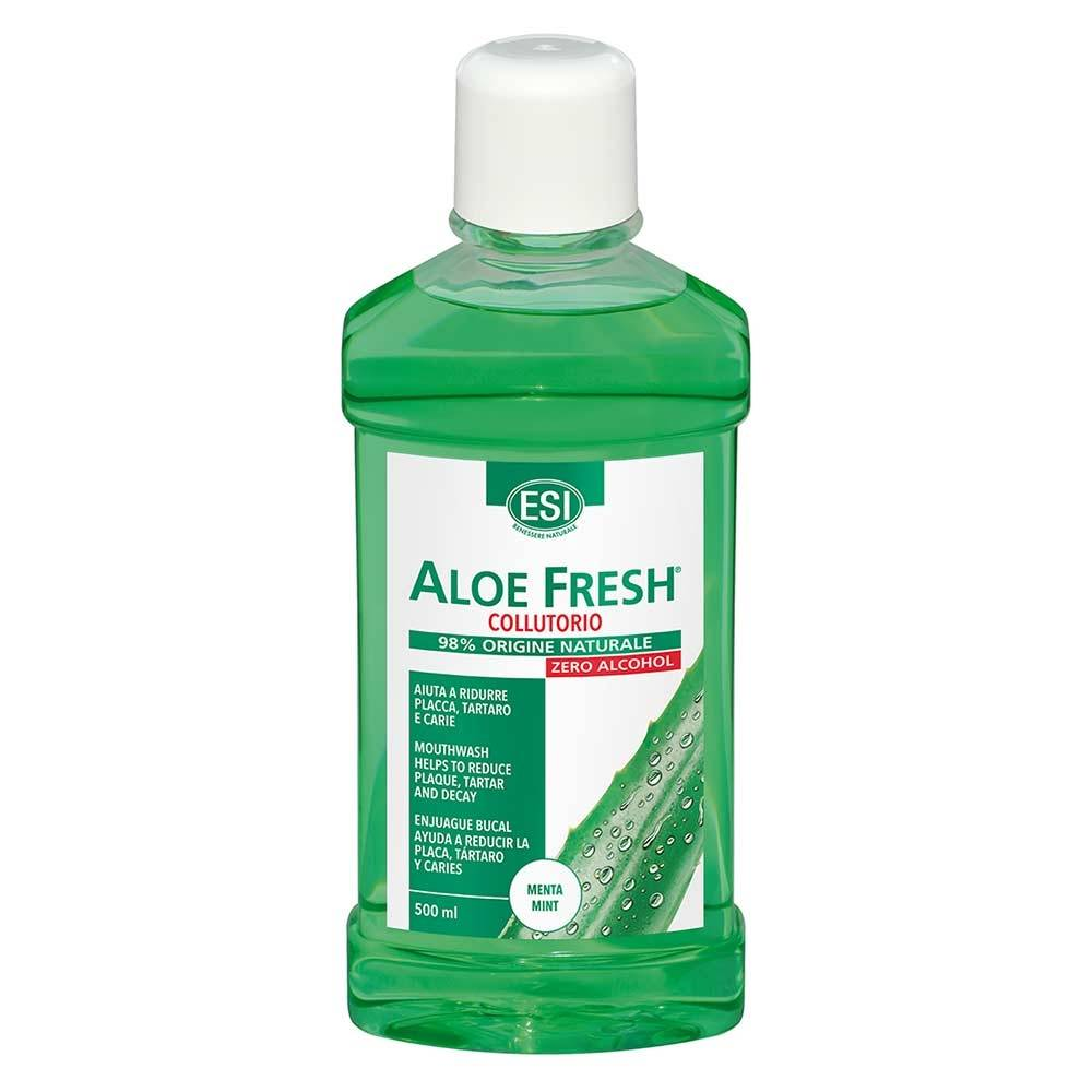 ESI Aloe Fresh Collutorio Retard Menta Forte No Alcool 500 ml