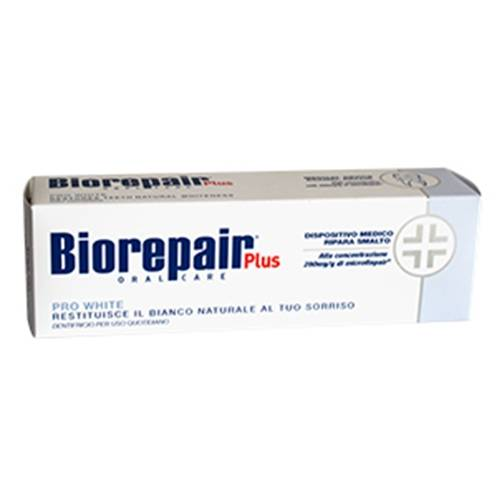 Biorepair Plus Oral Care Pro White Dentifricio 75 ml