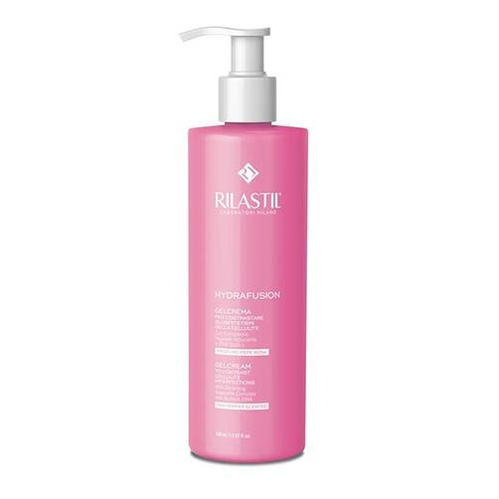 Rilastil Hydrafusion - Crema Gel Al Pepe Rosa, 400ml