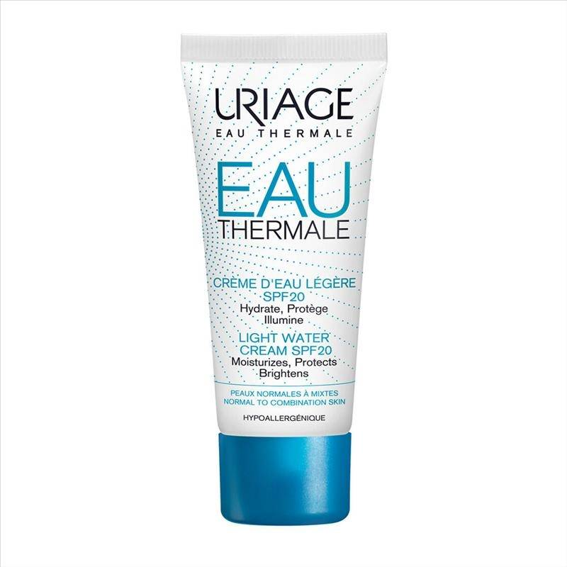 Uriage Eau Thermale - Crema Leggera All'Acqua SPF20, 40ml