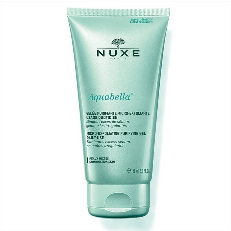 Nuxe Aquabella Gel Viso Purificante Microesfoliante Uso Quotidiano 150 ml