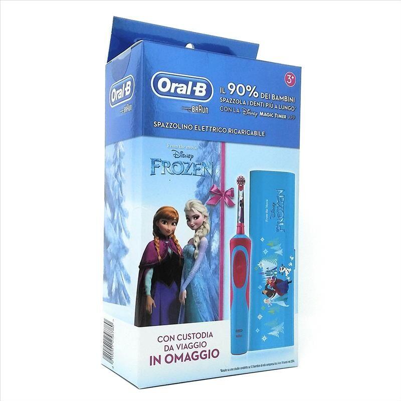 Oral-B Vitality Spazzolino Elettrico Ricaricabile Frozen 3+ Anni