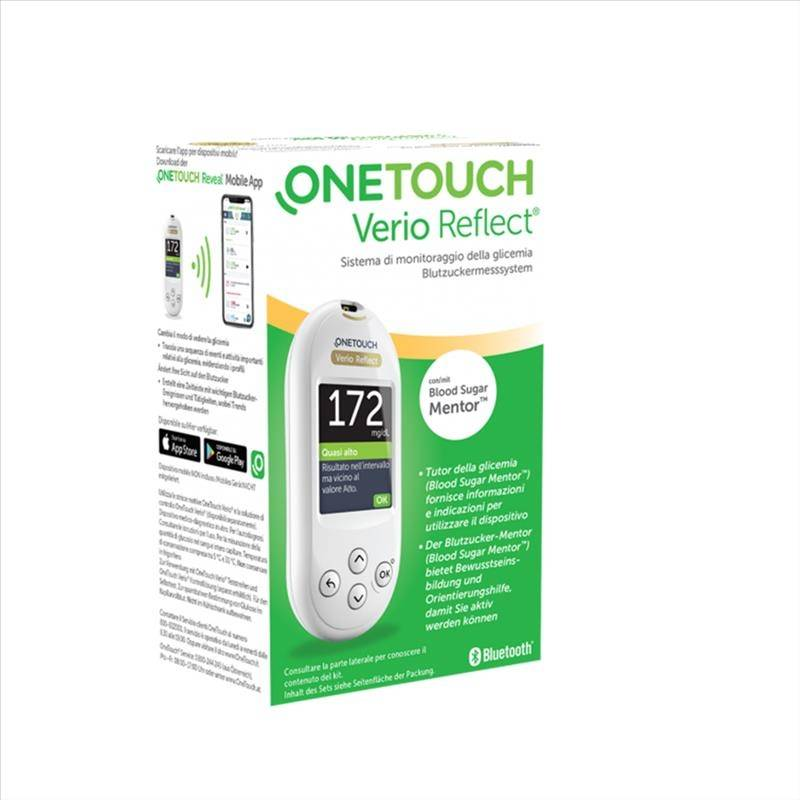 OneTouch Verio Reflect System Kit Glucometro