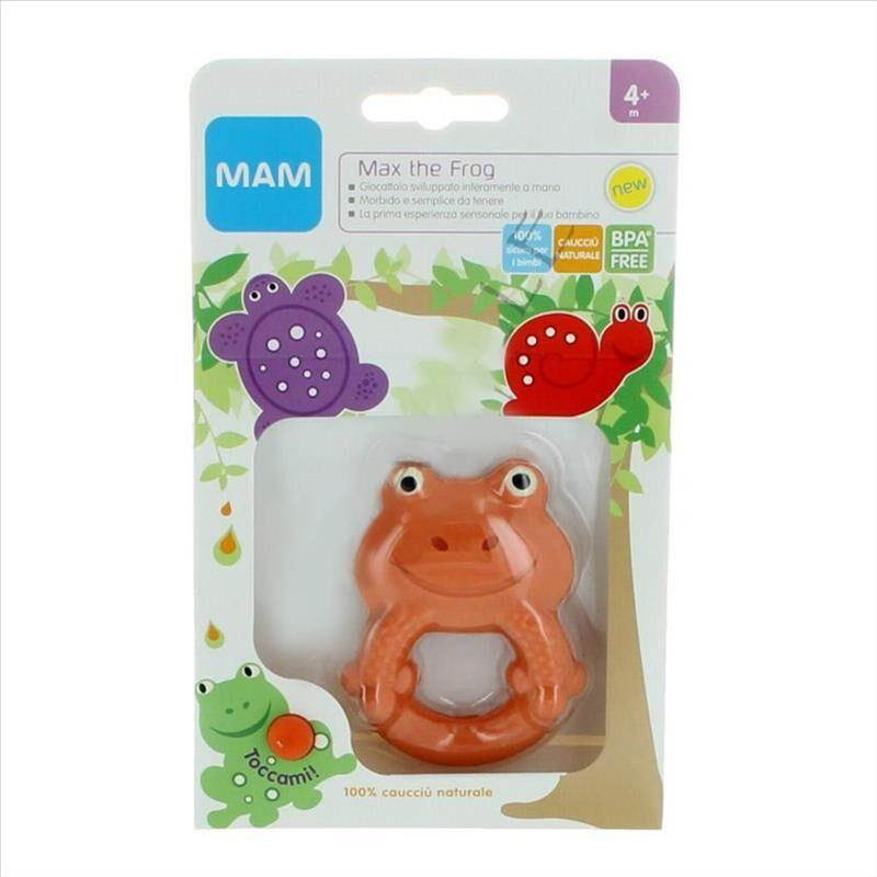Mam Max The Frog Gioco Per Lo Sviluppo In Lattice 4+ Mesi 1 Pezzo