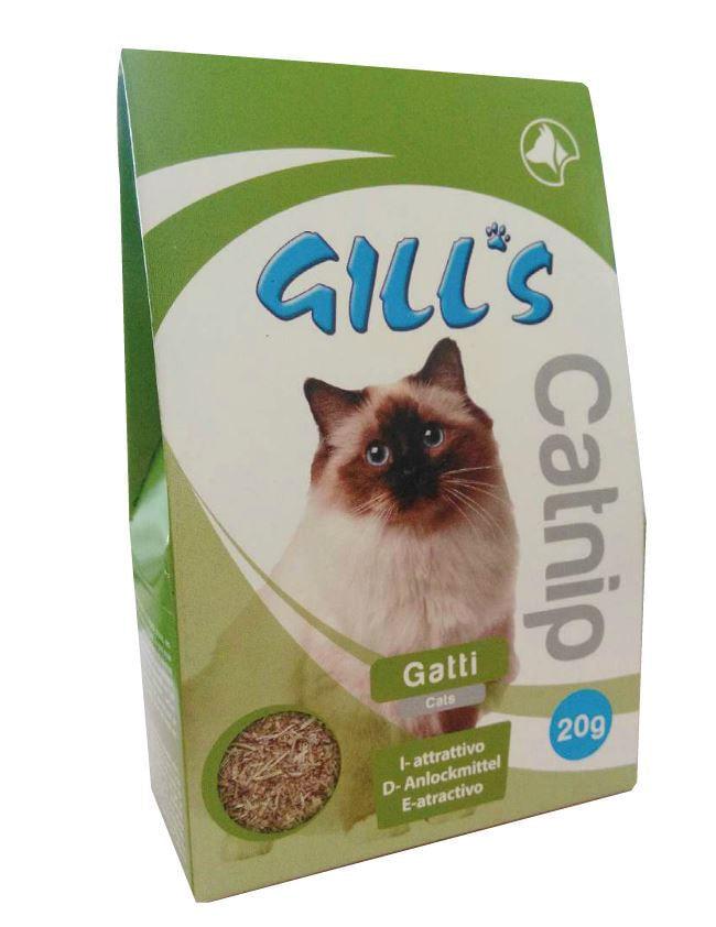 gill's gatto catnip bag 20g