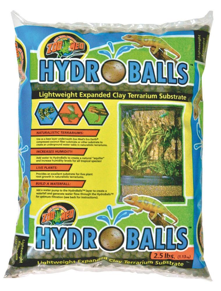 croci sfere argilla per terrari hydroballs 4l