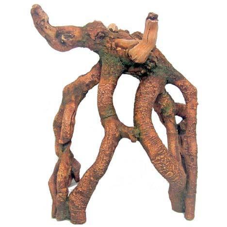 croci accessorio acquario radice gigante marrone rainforest 1pz