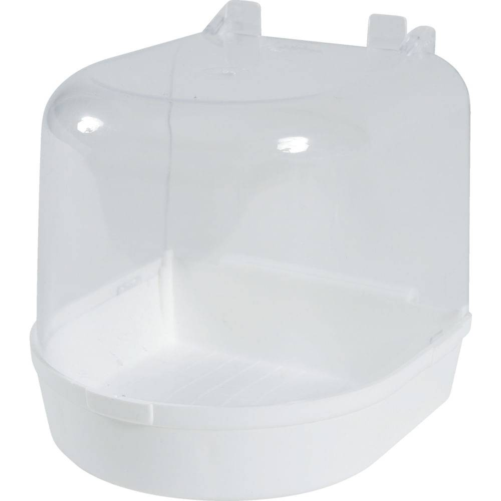 zolux uccelli vaschetta bagno esterna bianca 1pz