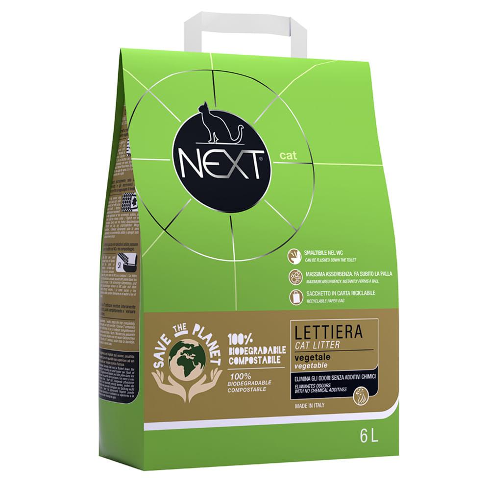 next cat lettiera vegetale 6l