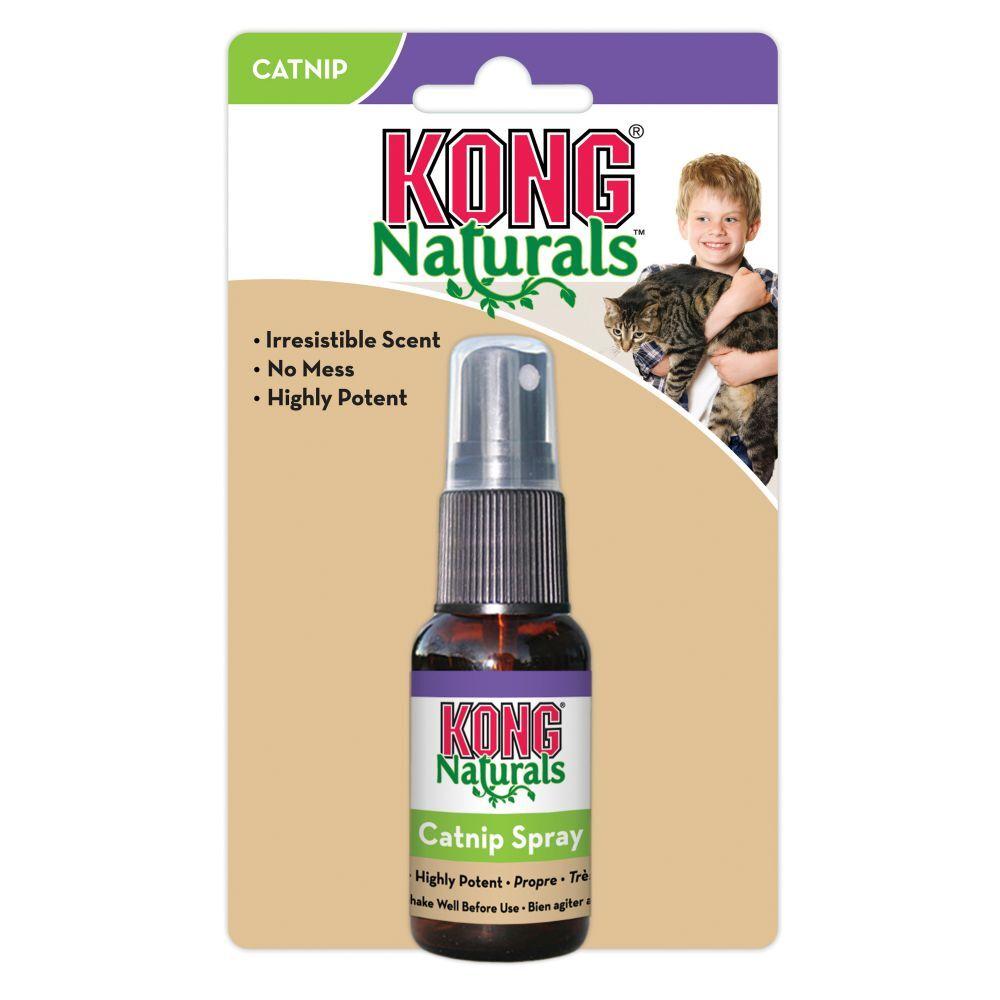 kong naturals catnip spray 1pz