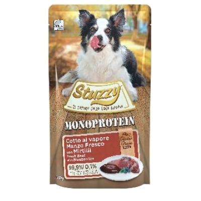 STUZZY Dog Monoprotein Manzo Mirtillo 150G