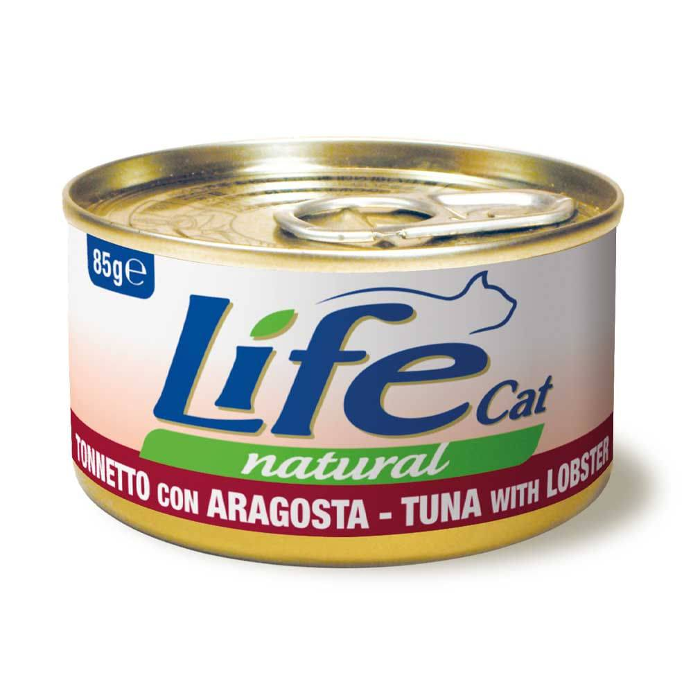 life pet care life gatto tonno e aragosta 85g