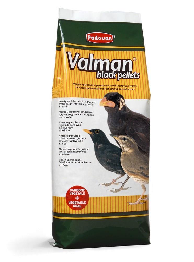 VALMAN black pellets 1kg 12PZ