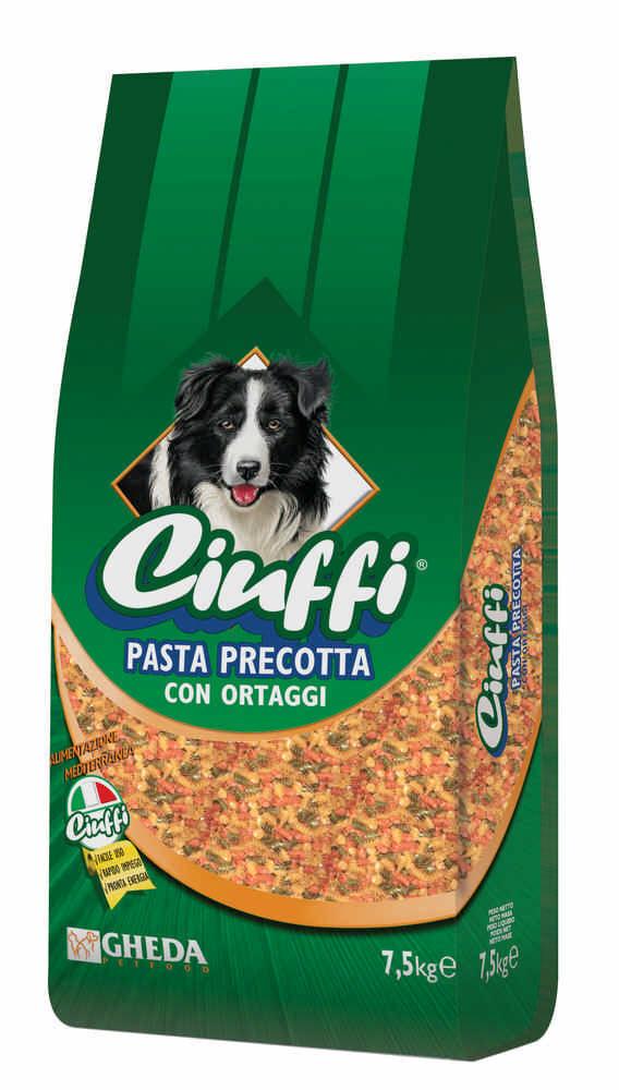 CIUFFI Dog Pasta Precotta con Ortaggi 7.5KG