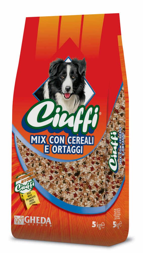 CIUFFI Dog Pasta Precotta Mix Cereali 5KG
