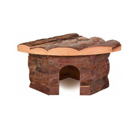 croci casetta angolare legno cm.42x15x30
