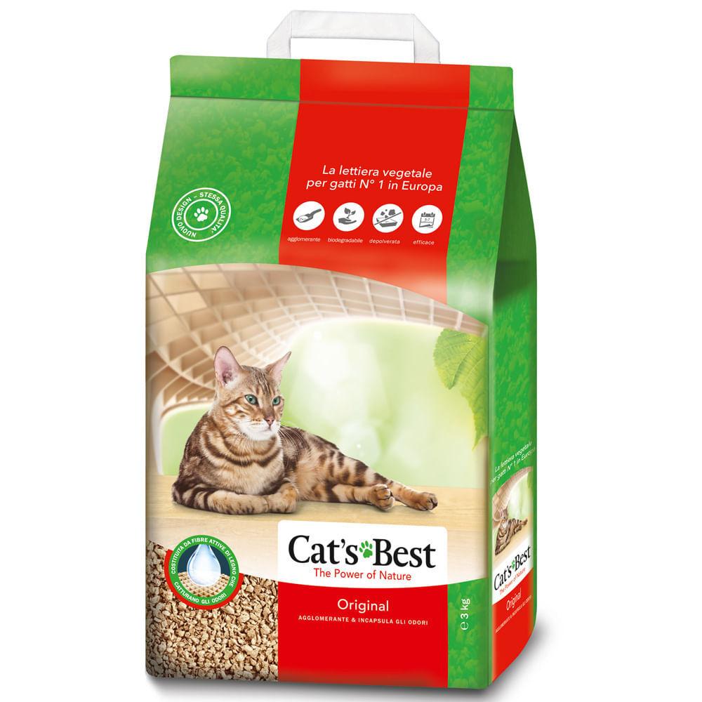 CAT'S BEST Lettiera Original 7L 7L