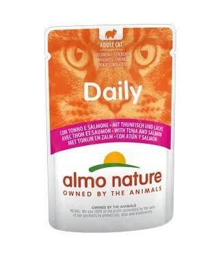 ALMO NATURE Cat Daily al Tonno e Salmone 70G