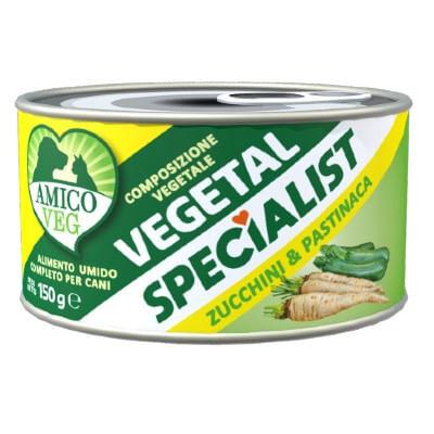 AMICO VEG Vegetal Specialist Zucchini e Pastinaca 150G