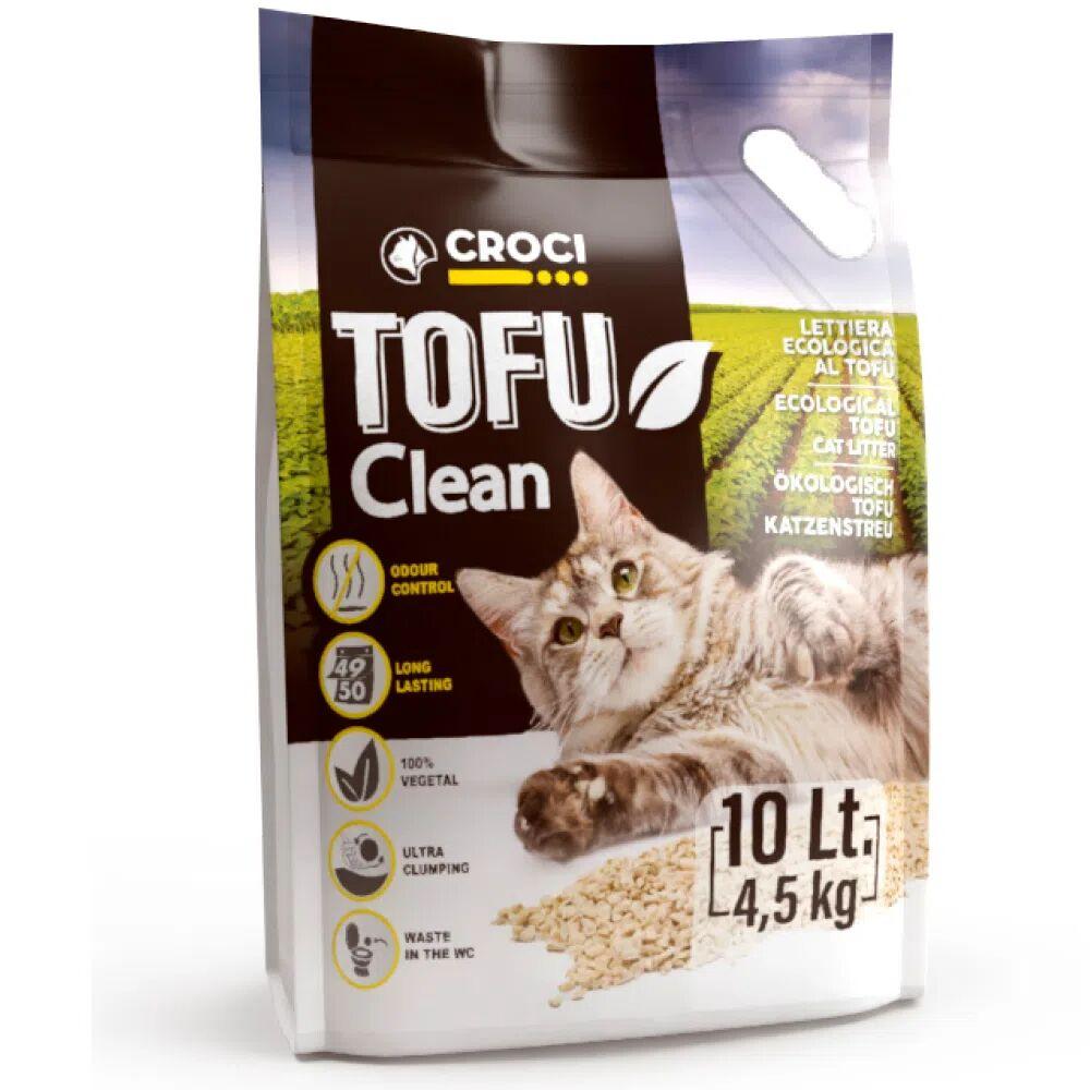 CROCI Lettiera Tofu Clean 10L