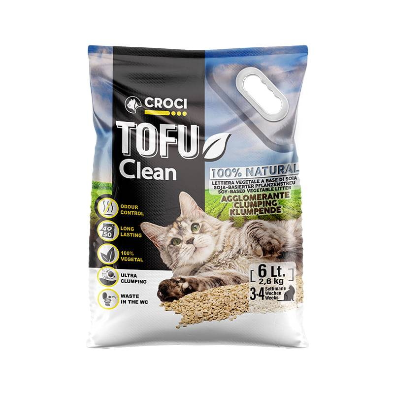 CROCI Lettiera Tofu Clean 6L