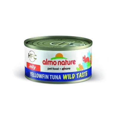 ALMO NATURE HFC Jelly Tonno Pinne Gialle 70G