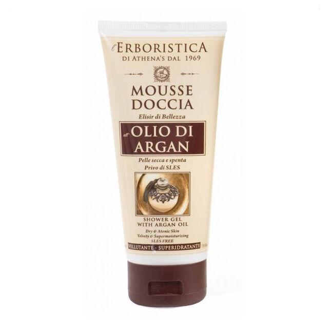 Athena's L'Erboristica Mousse Doccia all' Olio di Argan 200 ml