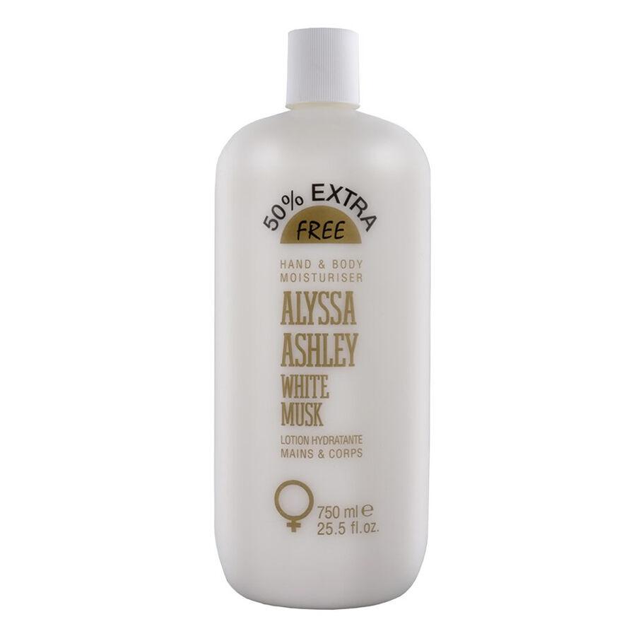 Alyssa Ashley White Musk Hand & Body Moisturiser 750 ml