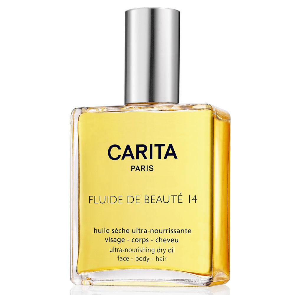 Carita Fluide de Beaute 14 Olio Secco Ultra Nutriente Viso Corpo Capelli 100 ml