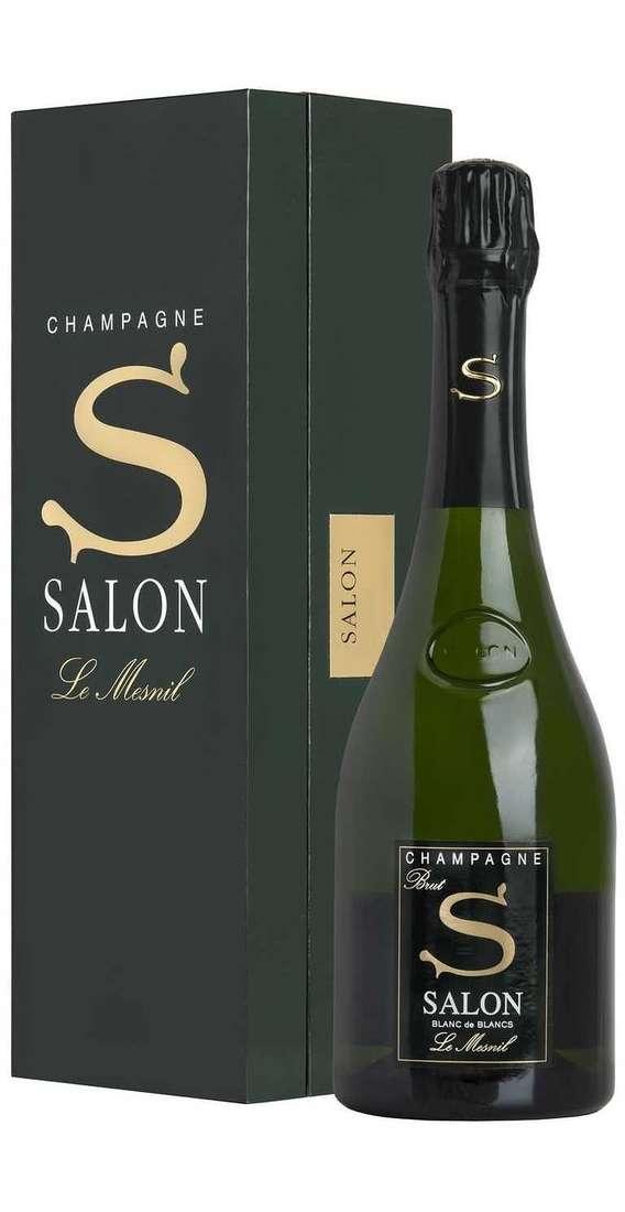 "SALON Champagne salon 2007 blanc de blancs ""s"" astucciato"