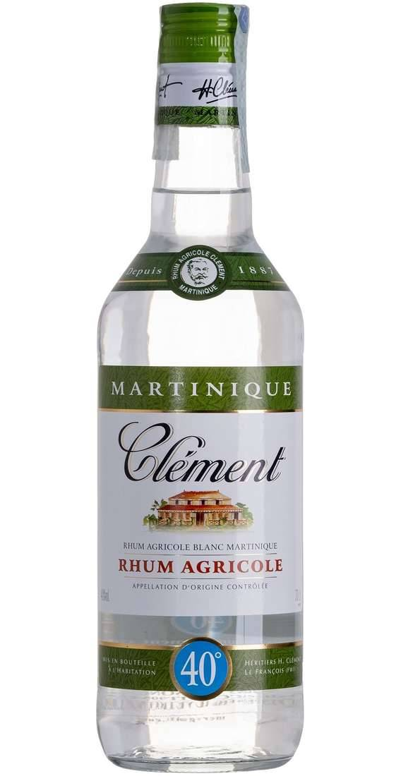 Clement Rum blanc agricole aoc