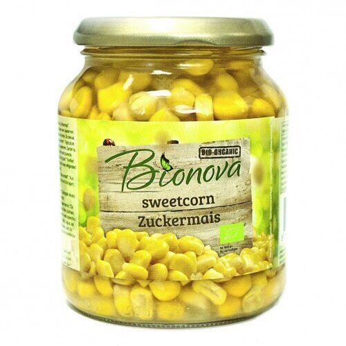 La Finestra Sul Cielo Bionova mais dolce pronti in vetro biologico 340 g
