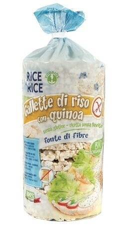 Probios Rice&rice gallette di riso con quinoa 100 g senza lievito
