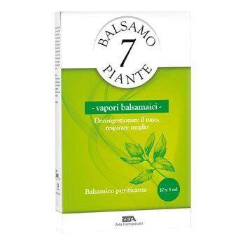 zeta farmaceutici spa balsamo delle 7 piante vapori balsamici emulsione balsamicaper vaporizzatori in