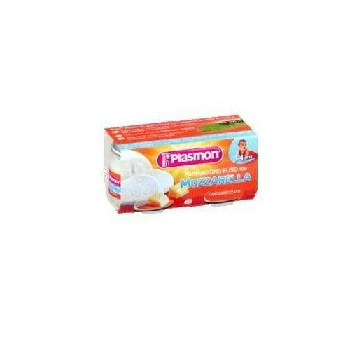 Plasmon omogeneizzato formaggino mozzarella 80 g x 2 pezzi