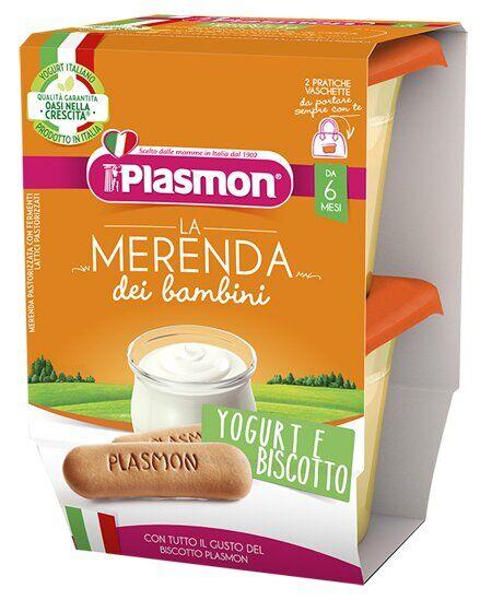 Plasmon yogurt biscotti as 2 x 120 g