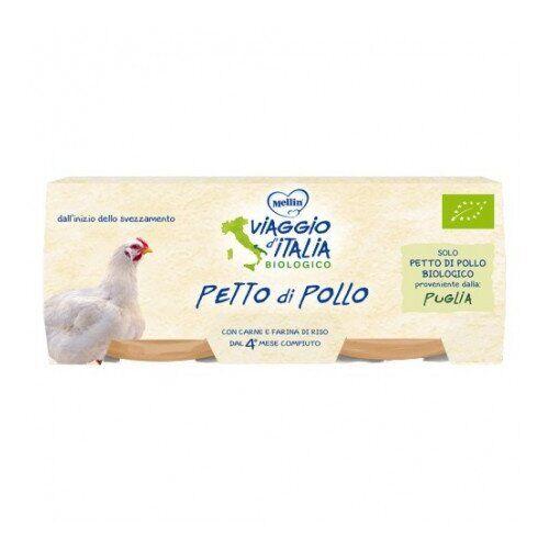 Mellin Spa Viaggio italia omogeneizzato petto pollo 2 x 80 g