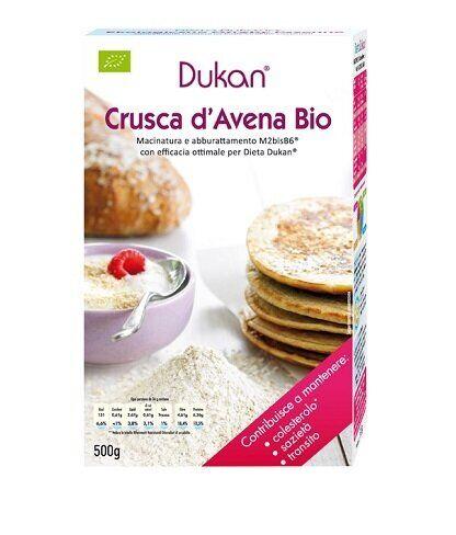 dieta dukan dukan crusca d'avena biologica 500 g